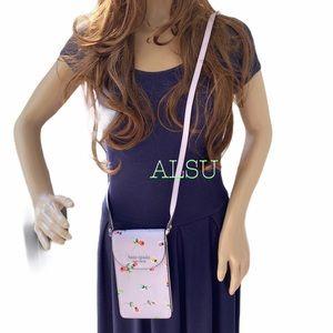 Kate ♠️ Spade Flap Phone Case Crossbody Wildflower